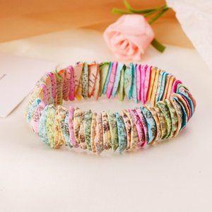 3/$20 New Colorful Seashell Bracelet